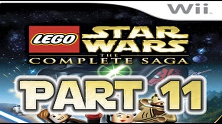 Lego Star Wars: The Complete Saga - Episode 1 Chapter 6 - Part 1 (co-op)