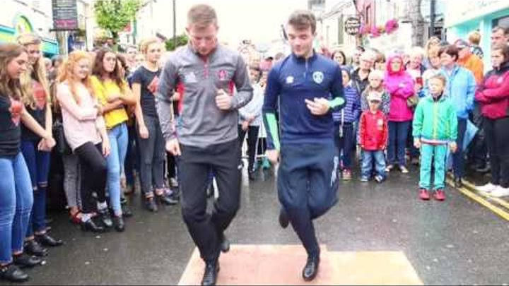 Fusion Fighters 'Irish dance street crew' at the Fleadh Cheoi Ennis