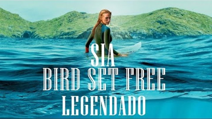 SIA - Bird Set Free (Legendado) The Shallows | Águas Rasas