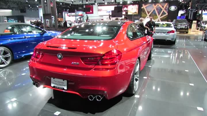 2013 BMW M6 Exterior at 2012 New York International Auto Show NYIAS