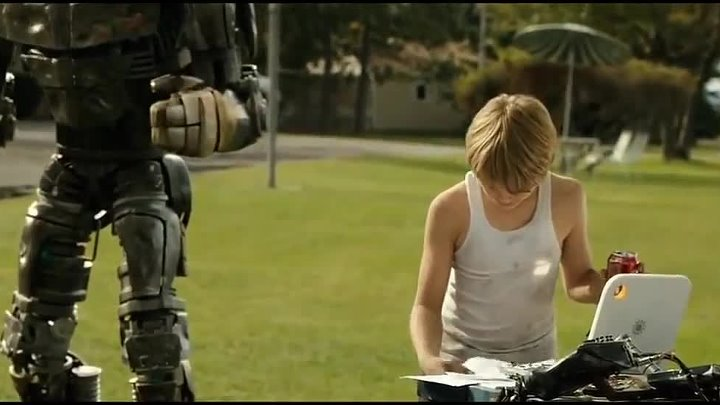 Real Steel - Max and Atom Dance HD