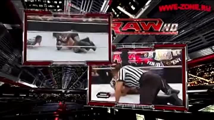 Rey Mysterio vs R-Truth / Ар-Труф против Рея Мистерио / RAW 18.07.2011