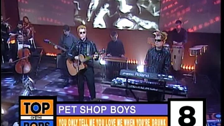 Pet Shop Boys - You Only Tell Me You Love Me When Your Drunk (Top Of The Pops - 2000) - YouTube [1080p]
