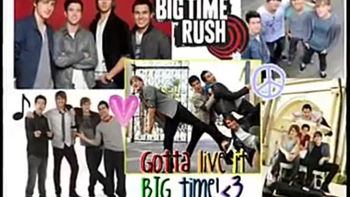 Big time rush - Nothing even matters.dvd