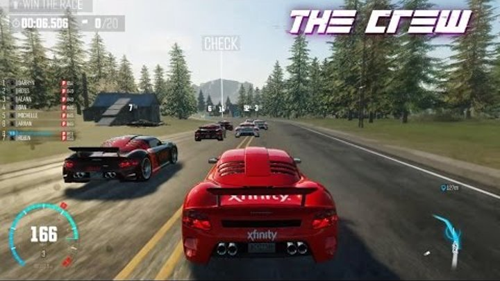 The Crew [Türkçe] Senaryo Modun-bölüm 06-Win the race & Take down the V2
