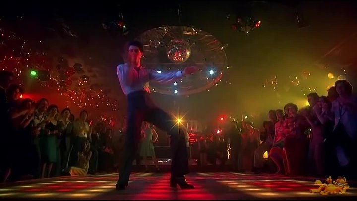 Молодой Джон Траволта рвёт танцпол #Джон Траволта на дискотеке #John Travolta In a disco