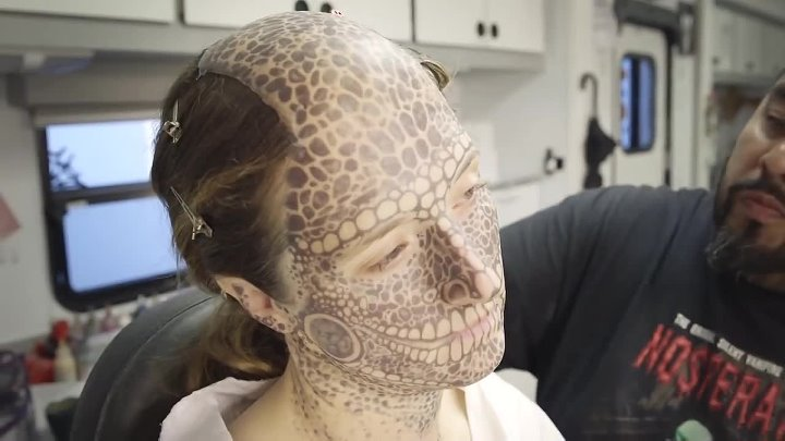 American Horror Story Freak Show - Inside The Freak Show The Make Up of Horror
