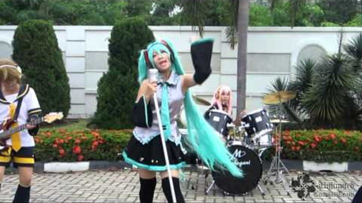 Kocchi Muite Baby (Live action) Vocaloid Cosplay PV Indonesia