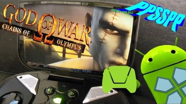 God of War: Chains Olympus PPSSPP TEST 0.9.9.1 vs 0.9.8 Android OS on Nvidia Shield (Tegra 4)