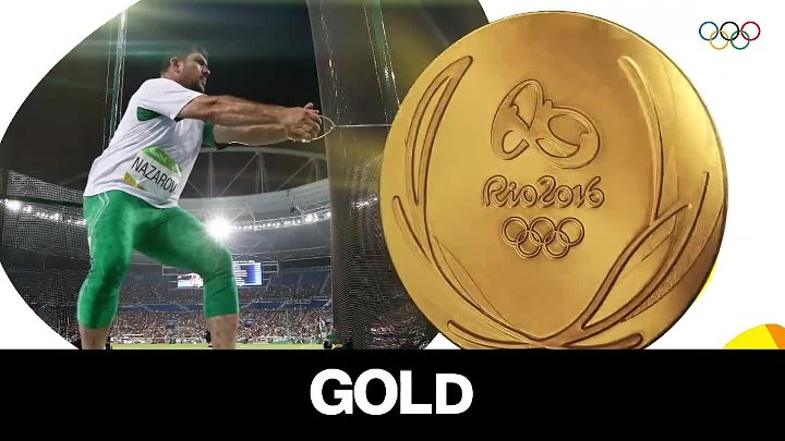 The first Gold medal DILSHOD NAZAROV in olympic games Rio - 2016!