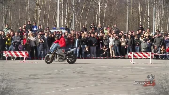 1st place final run at East european stunt competition in russia by Arasfreestyle