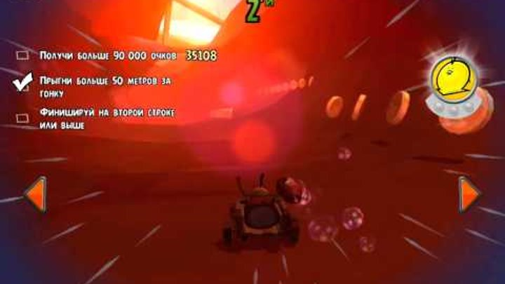 Angry birds Go Stunt! Part 56! racer Bubbles! Tests in the race! GR8! Gameplay Walkthrough