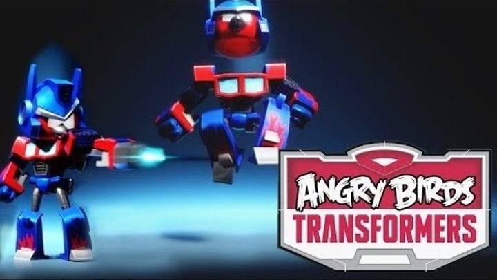Angry Birds Transformers! Играем за Бамблби! Энгри Бердс Трансформеры! Серия 3