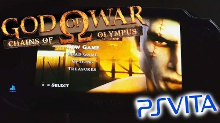 God of War: Chains of Olympus (PSP Classic) Gameplay on PS Vita