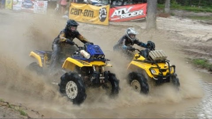 CAN AM HEAD-TO-HEAD PIT RACING!