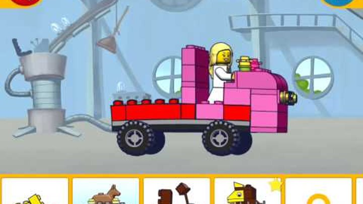 Lego Juniors! Lego games! GIRL, DOG AND TRUCK! Part 15! Cartoon for kids! Lego!