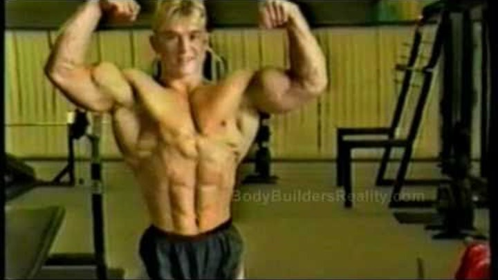 Young BodyBuilder Lee Priest 17 Years Old On TV