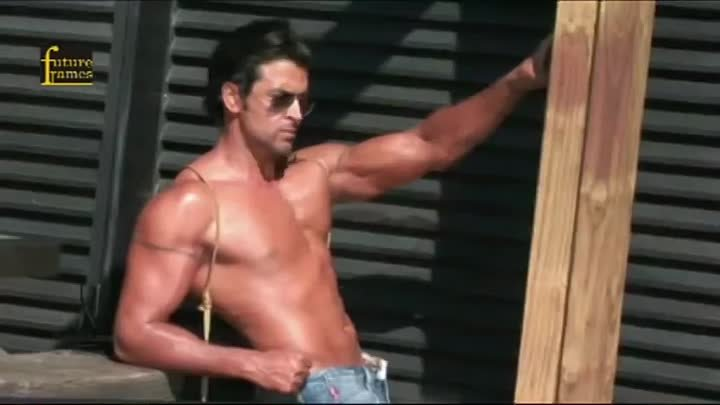 Photo Shoot of Hrithik Roshan for Dabboo Ratnani's 2013 calender