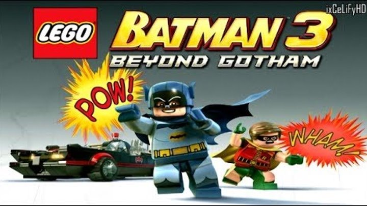 LEGO BATMAN 3 BEYOND GOTHAM - БЭТМЕН 60-x