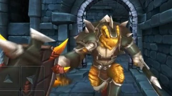 Dungeon Hero RPG - Трехмерная ролевая игра на Android(Обзор/Review)