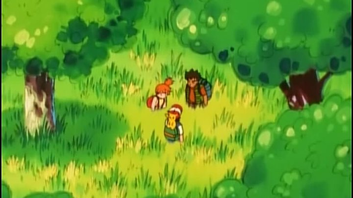 Pokemon (010) Bulbasaur and the Hidden Village - Бульбазавр и спрятанное селение.
