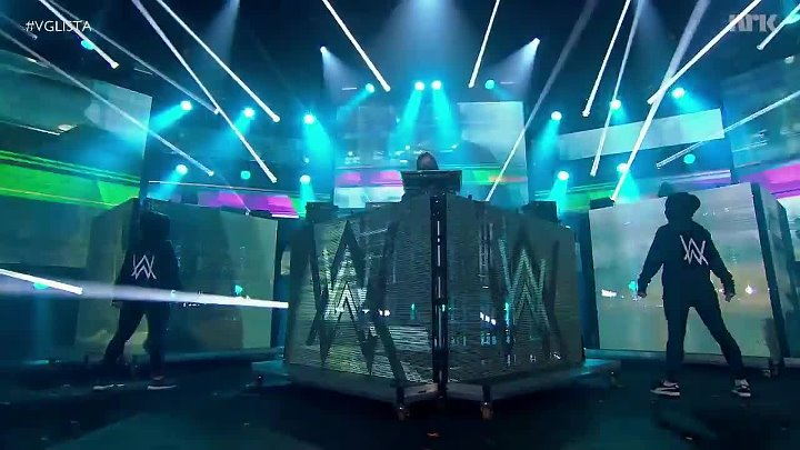 ALAN WALKER - Sing Me To Sleep (Live VG-Lista 2016)