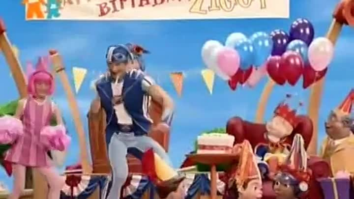 Лентяево / LazyTown - Время двадцати / Twenty times time (Russian)