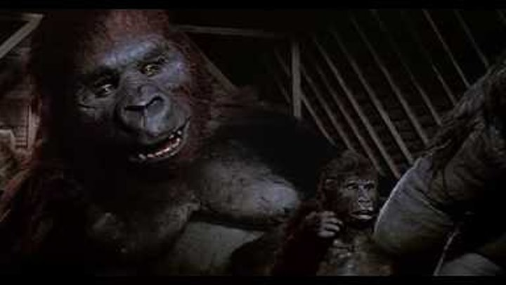 25 (ver.2). Birth of Baby Kong; Death of Kong (King Kong Lives 1986) Soundtrack /with voices/