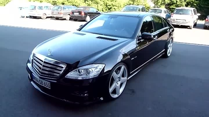 Mercedes S 65 AMG V12 Mafia and rev up !