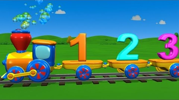 TuTiTu Learning   The Numbers Train Song