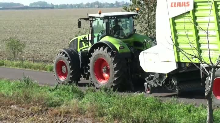 Claas Axion 920, 930, 940 et 950 - 320 to 410 hp