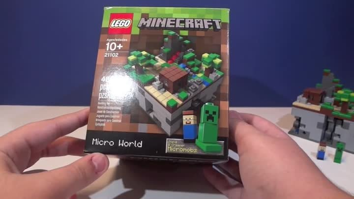"LEGO Minecraft : 21102 ""Micro World"" - Review"