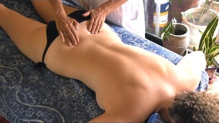 Back Massage Therapy How to for Sciatica Pain Relief Treatment, Cranio-Sacral Techniques