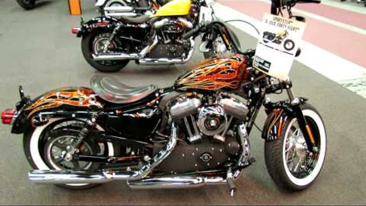 2012 Harley-Davidson Sportster XL 1200X Forty-Eight at 2012 Montreal Motorcycle Show