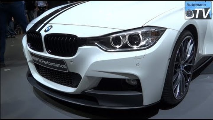 BMW 335i F30 M-Performance Parts - In Detail (1080p FULL HD)