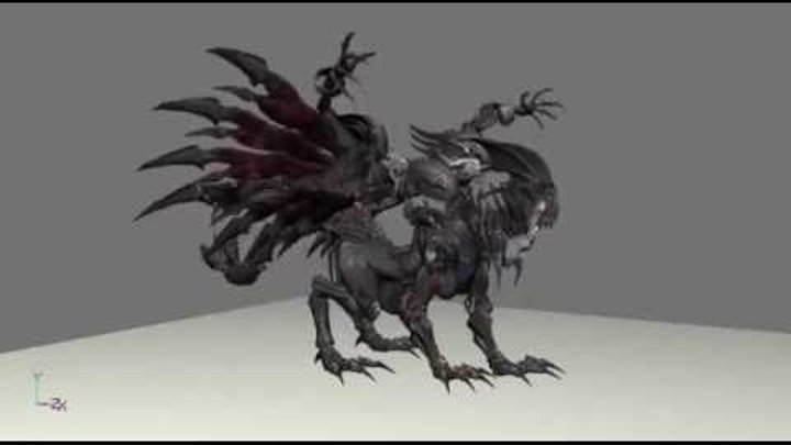 Tera Online Monsters models+animations 20 (.c4d)