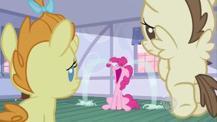 The Cake's babies make Pinkie cry