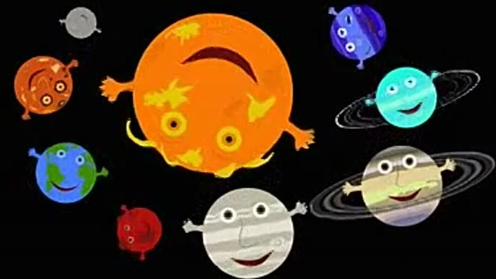 solar system song - 720×405