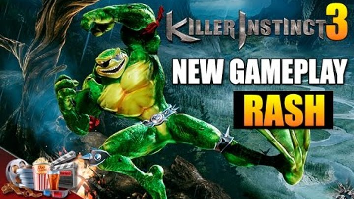 Killer Instinct Season 3 NEW GAMEPLAY RASH Trailer