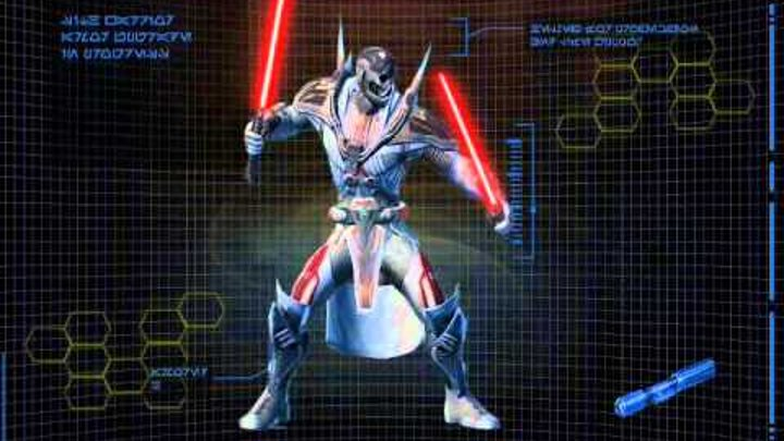 Star Wars The Old Republic - Sith Warrior Character Progression trailer