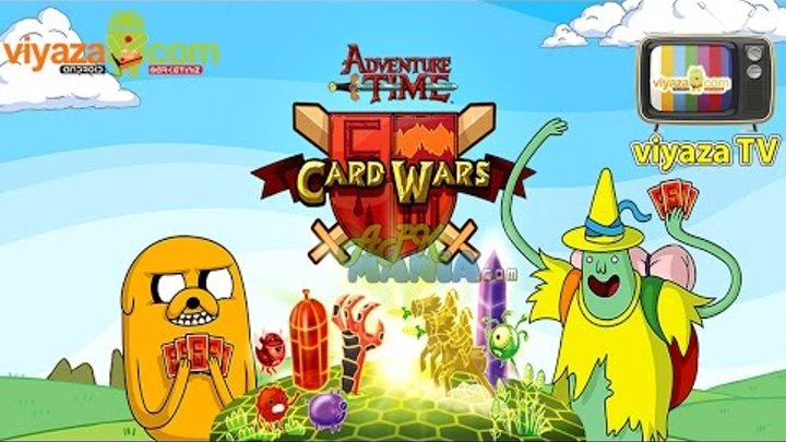 Card Wars Adwenture Time - Android & iOS (1080P) HD