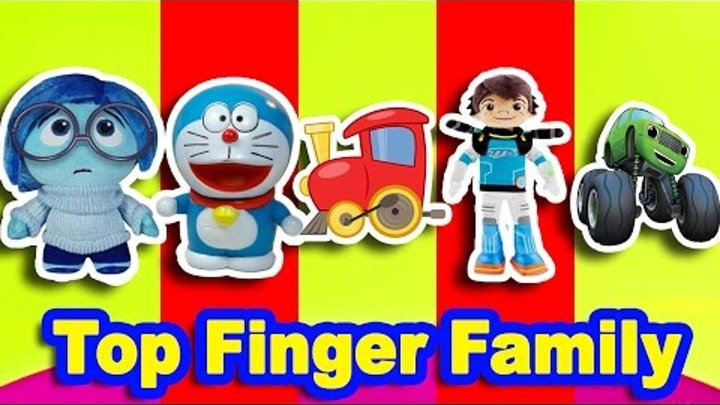 Top Finger Family Songs Collection | Inside Out Bob The Train Doraemon and More