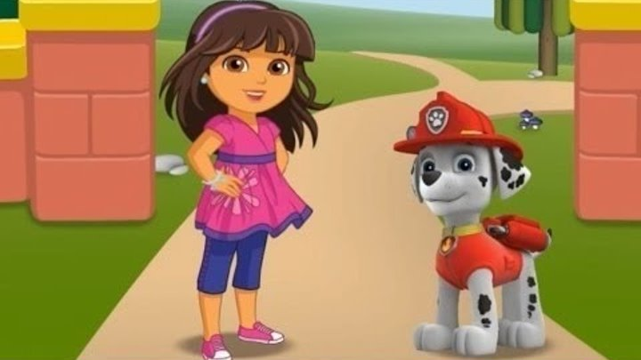 Nick Jr Puppy Playground Dora the Explorer PAW Patrol Bubble Guppies Games