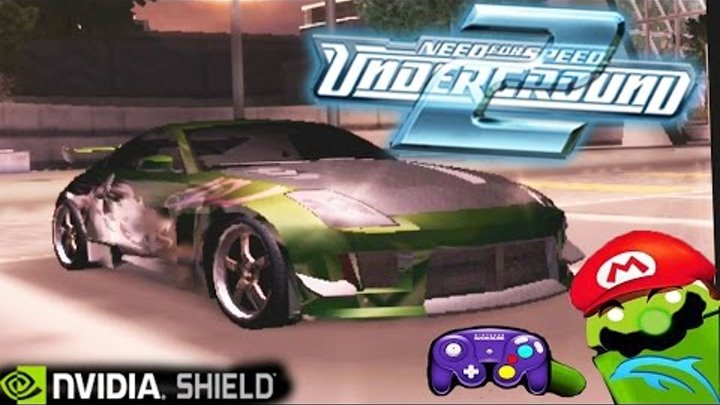 Need for Speed: Underground 2 [NEW TEST] Dolphin Emulator on NVIDIA SHIELD Android TV (Tegra X1)