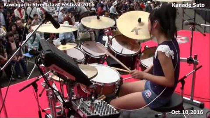 Todays spotlight Top Female Rock Fusion Drummer Japanese Extraordinaire 13 Yr Old KANADE SATO!
