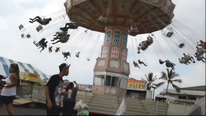 Shocking Amusement Park Accident Disaster Tragedy! Warning Graphic Footage!