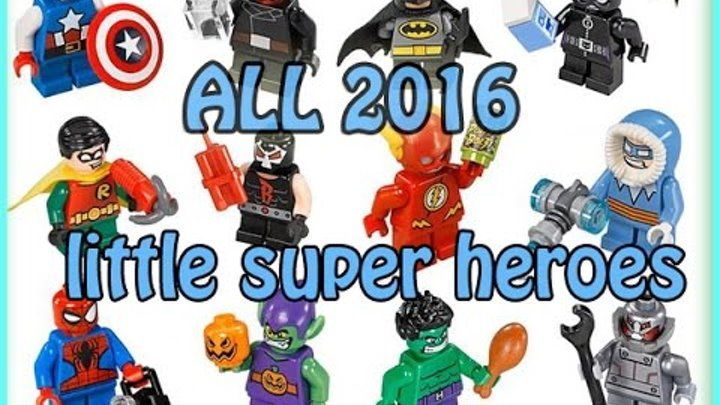 LEGO Super Heroes 2016 Mighty Micros All sets pictures Лего Супер Герои ДС Марвел