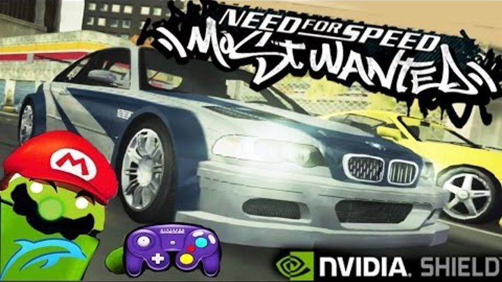Need for Speed: Most Wanted [NEW TEST] Dolphin Emulator on NVIDIA SHIELD Android TV (Tegra X1)