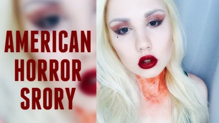 American Horror Story Lady Gaga Make up