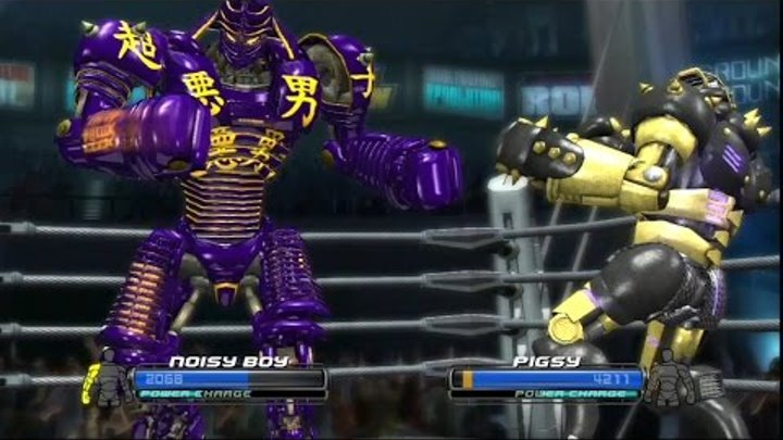 Real steel WRB Noisy boy(#14) Series of fights NEW ROBOT(Живая сталь)